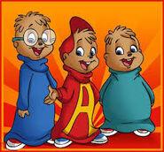 Teodoro y sus hermanos animados