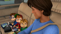 Dave and The Chipmunks in Temporary Mom