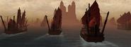 Siege on water
