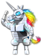 Robot Unicorn Rainbow