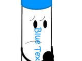 Blue Texta