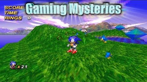 Gaming Mysteries Sonic X-treme (Saturn) UNRELEASED