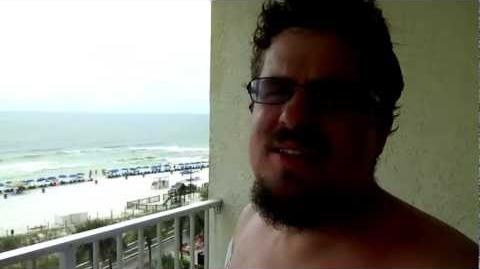 Fat Norm Lays on Beach and Gets Laughed at! I am Mad NOW!