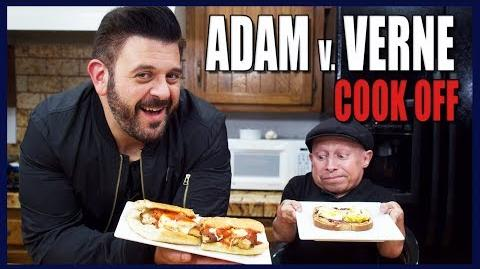 BEST SANDWICH COOK-OFF WITH ADAM RICHMAN Cooking with Verne