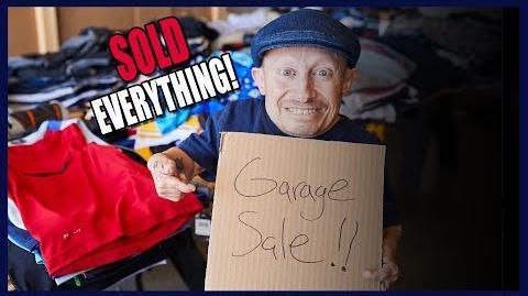 I'M SELLING ALL MY STUFF! (Garage Sale)