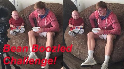 Bean Boozled Challenge with Logan Paul! Verne Troyer