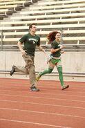 S24 Brendon Rachel Run to starting Line