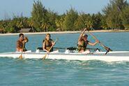 Caroline Jennifer Outrigger Canoe