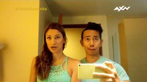 The Amazing Race Asia 5 T-0 Racers' Vlogs - Tom and Anita