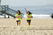 Tiffany Krista run to Starting Line