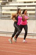 S24 Natalie Nadiya Run to Starting Line