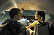 Ernie Cindy Flight Simulator