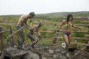 Totumo Mud Volcano Roadblock