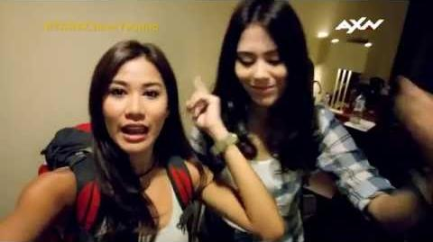 The Amazing Race Asia 5 T-0 Racers' Vlogs - Chloe and Yvonne