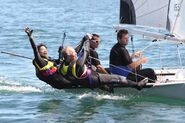 Ron Christina Sailing