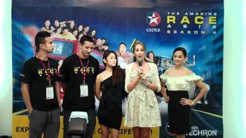 The Amazing Race Asia 4 Team Philippines!