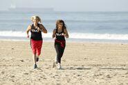 Kelly Shevonne Run to Starting Line