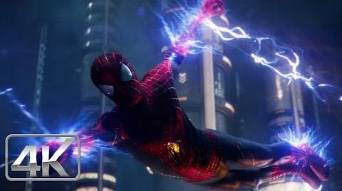 Spider-Man Vs Electro PELEA FINAL LATINO 4k (Ultra-HD) The Amazing Spiderman 2