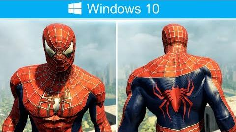 Spider-Man Trilogy Suit Mod (The Amazing Spider-Man 2 PC Gameplay)