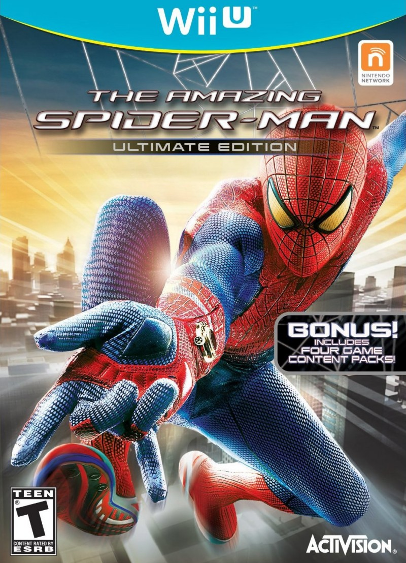 The Amazing Spider-Man - Ultimate Edition - Wii U game.jpg