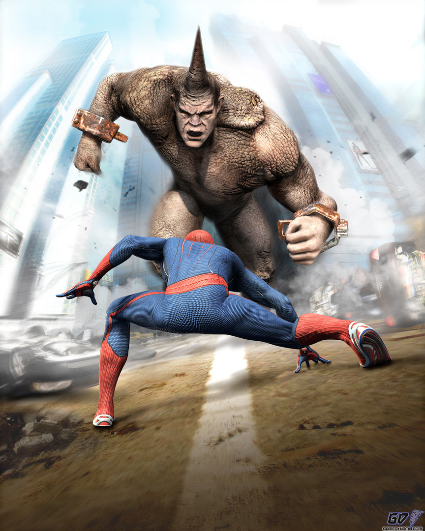 The-Amazing-Spider-Man and Rhino.jpg