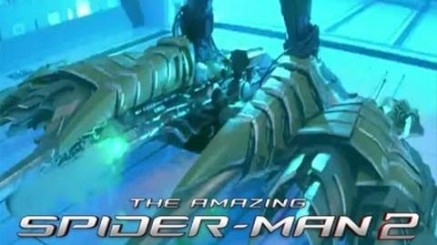 Closer Look At Green Goblin's Glider In The Amazing Spider-Man 2