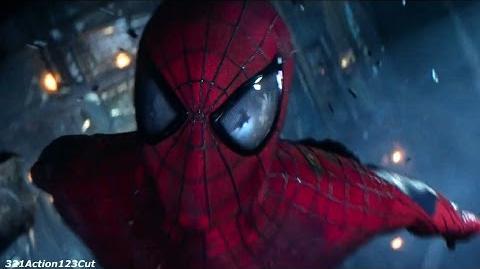 Spider-Man vs. Green Goblin - The Amazing Spider-Man 2-(2014) Movie Clip Blu-ray 1080p