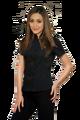 Emmy Rossum Ladies Black Bar Wear Perfect Waitress Clothing