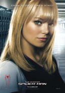 Gwen Stacy Spanish character poster