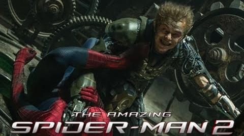 First Official Still Of Green Goblin In The Amazing Spider-Man 2