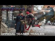 SPIDER-MAN- NO WAY HOME - Official Teaser Trailer (HD)