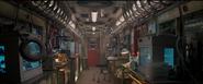 Subway car lab interior