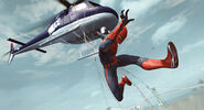 The-Amazing-Spider-Man-and-Helicopter