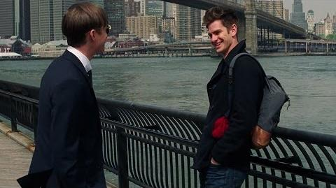 Peter Parker Visits Harry Osborn - The Amazing Spider-Man 2-(2014) Movie Clip Blu-ray 1080p