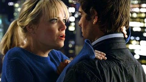 Peter and Gwen - Rooftop Kiss Scene - The Amazing Spider-Man (2012) Movie CLIP HD