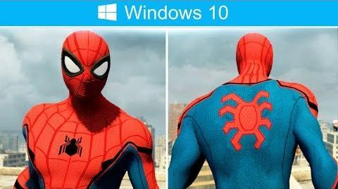 Spider-Man CIVIL WAR Suit Mod (The Amazing Spider-Man 2 PC Gameplay)