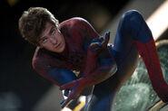 Spider-Man maskless