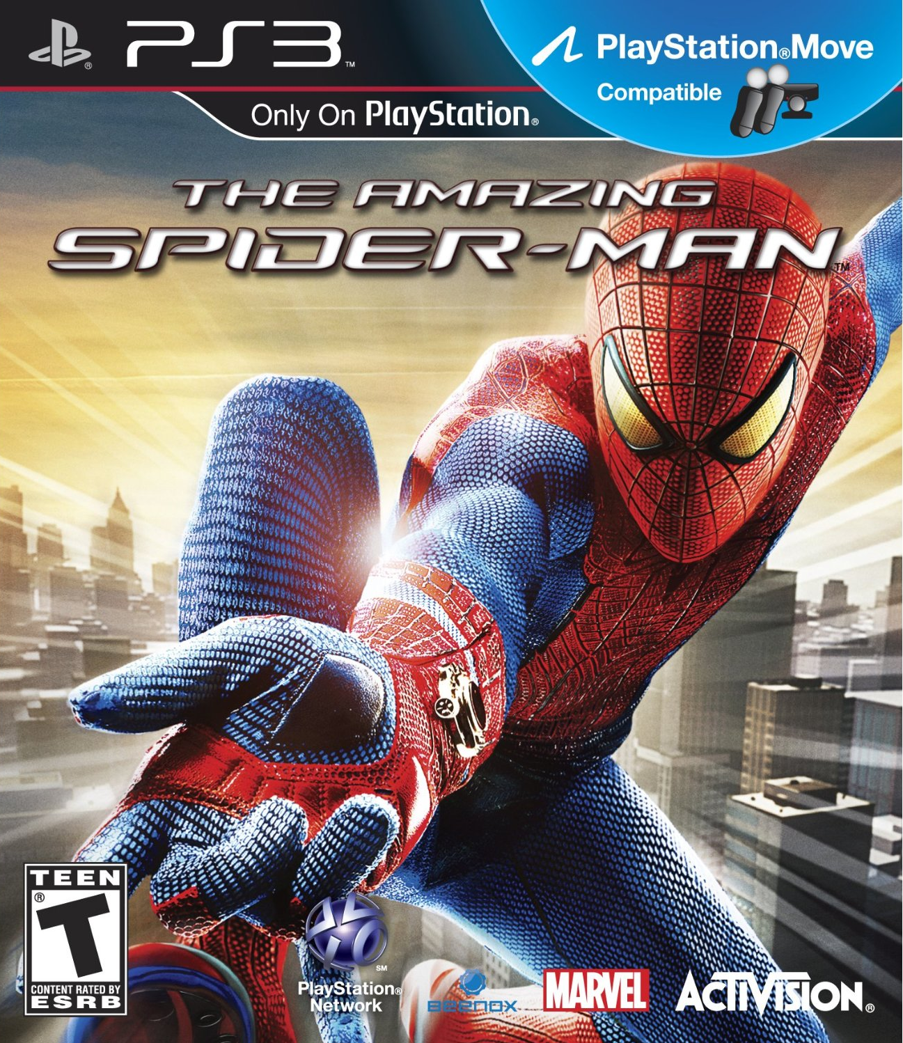 The Amazing Spider-Man - PS3 game 1.png