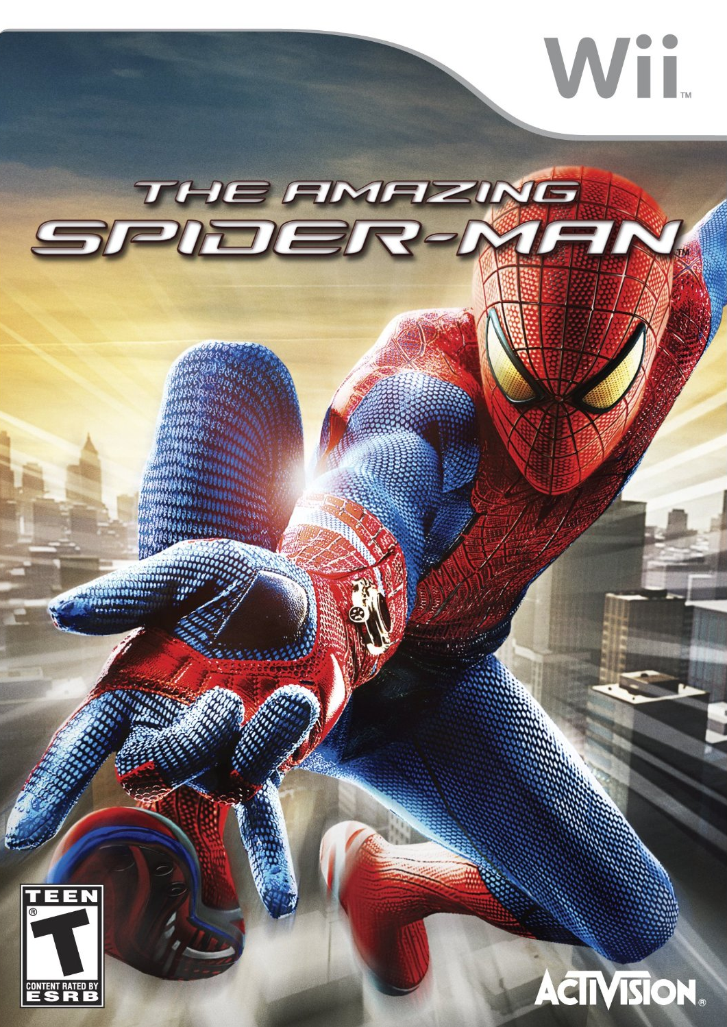 The Amazing Spider-Man - Wii game 1.png