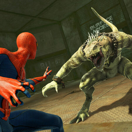 Spidey faces off against Iguana.jpg