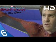 Official Footage of Andrew Garfield on Spider-Man- No Way Home Set! -HD VERSION-