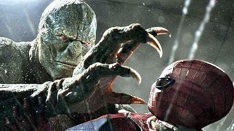 Spider- Man Vs The Lizard (Pelea del Drenaje) Español Latino (4K-HD) The Amazing Spider-Man