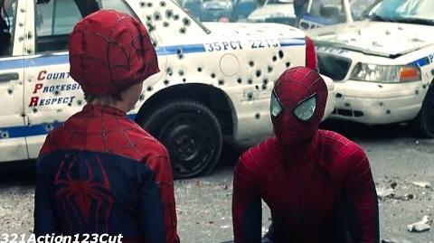 Spider-Man vs. Rhino ''Ending'' - The Amazing Spider-Man 2-(2014) Movie Clip Blu-ray 4K