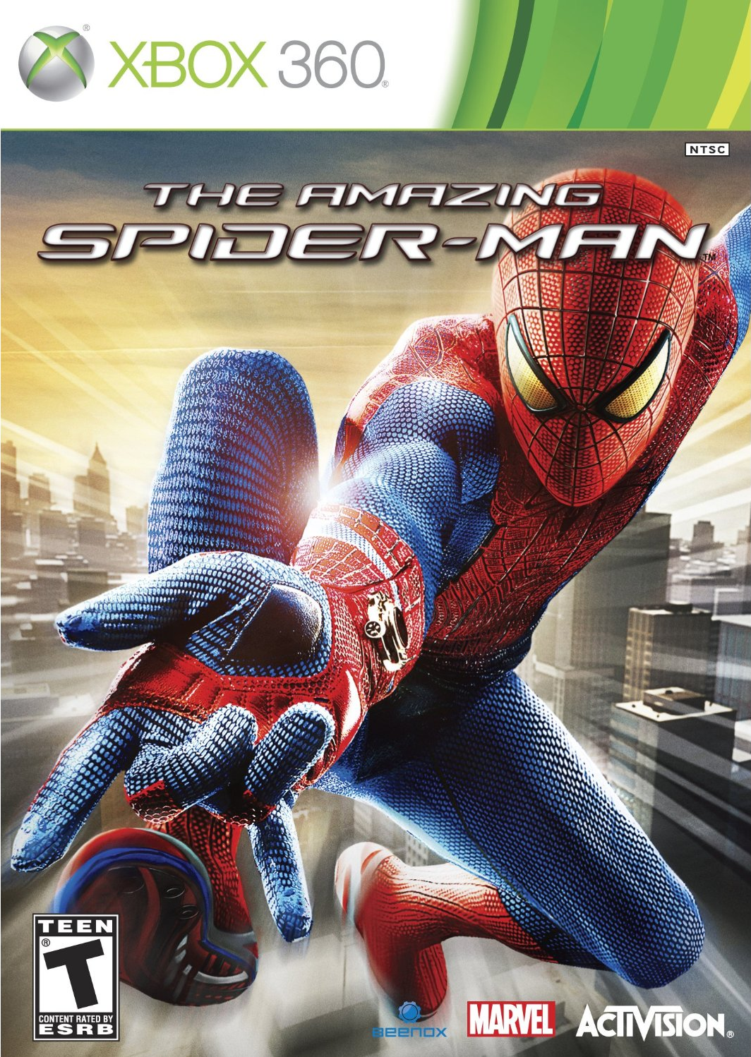The Amazing Spider-Man - Xbox 360 game 1.png