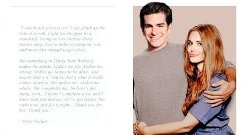 """Peter Parker and Mary Jane Watson Clips """"The Amazing Spider-Man 3"""""""
