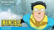 Invincible – Teaser Trailer Prime Video