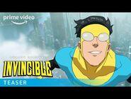 Invincible – Teaser Trailer - Prime Video