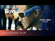 The Boys TV Show A-train vs Shockwave - Prime Video
