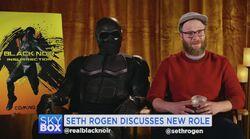 Black Noir and Seth Rogen
