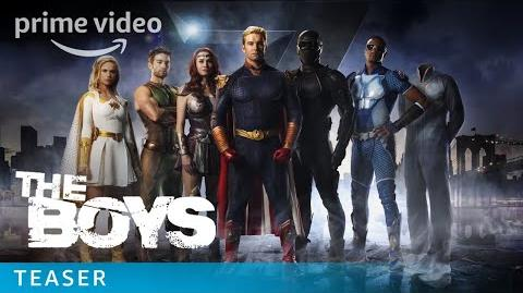 The Boys - NYCC Teaser Vought is Here For You Prime Video